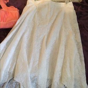 Beautiful Long Lace Skit! Lined! Mint! 12